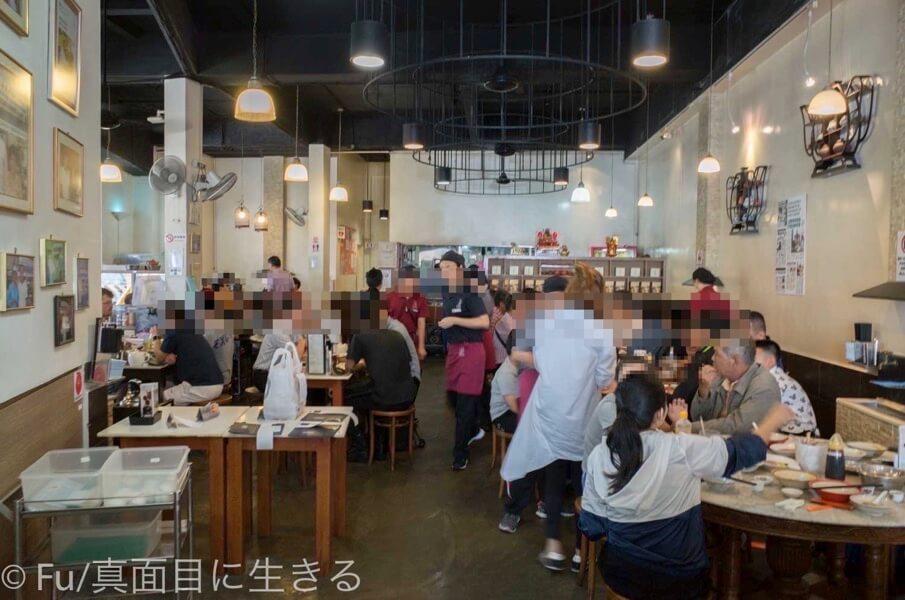 黄亜細肉骨茶餐室 店内の雰囲気