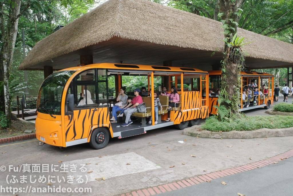 シンガポール動物園のトラム