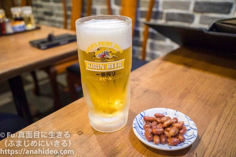 阿佐ヶ谷 青松 ビール