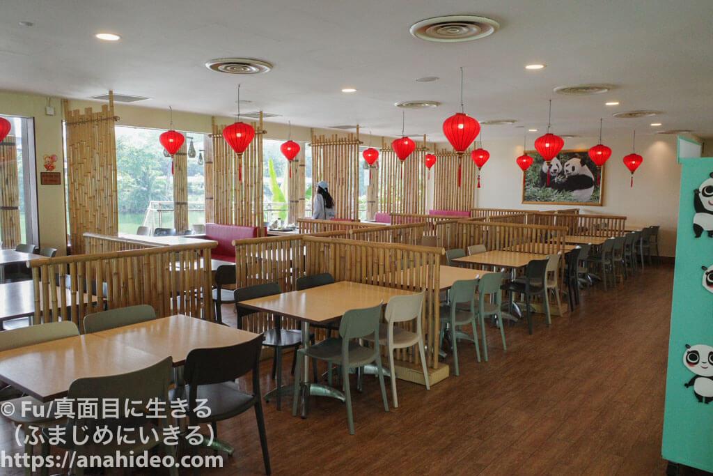 中華レストラン「MAMA PANDA KITCHEN」の店内