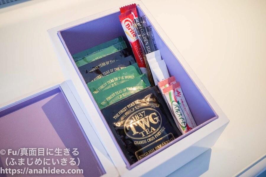 東京マリオットホテル 紅茶 TWG