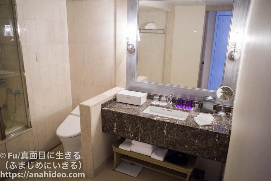 東京マリオットホテル バスルーム