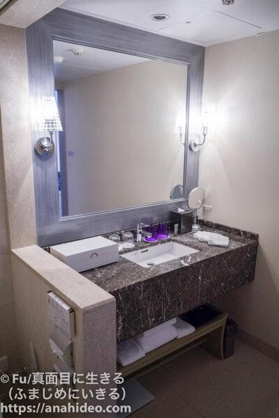 東京マリオットホテル 洗面台