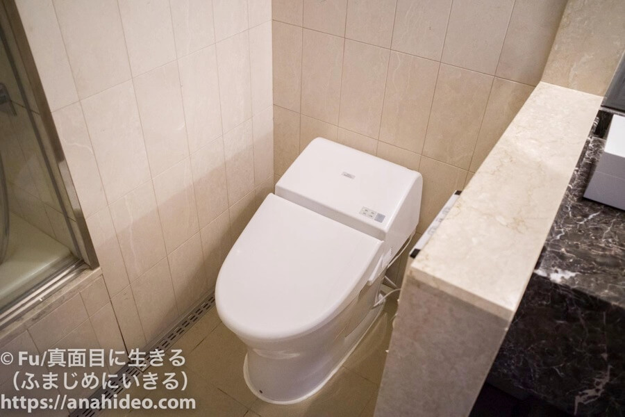 東京マリオットホテル トイレ