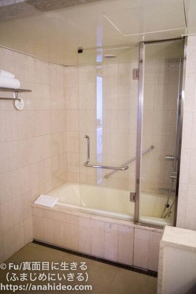東京マリオットホテル お風呂とシャワーが一体