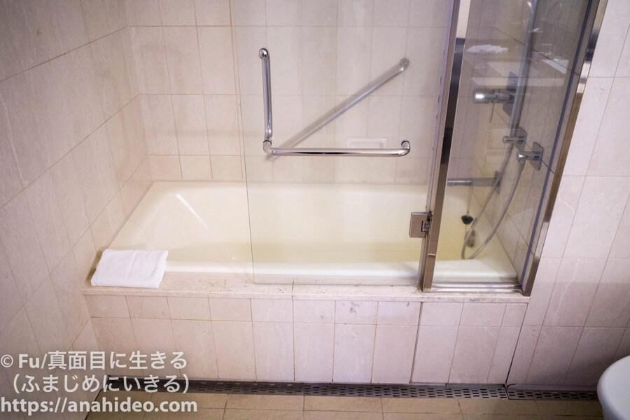 東京マリオットホテル 浴槽