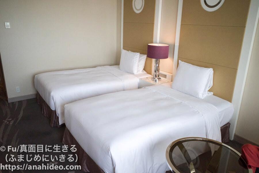東京マリオットホテル ツインベッド