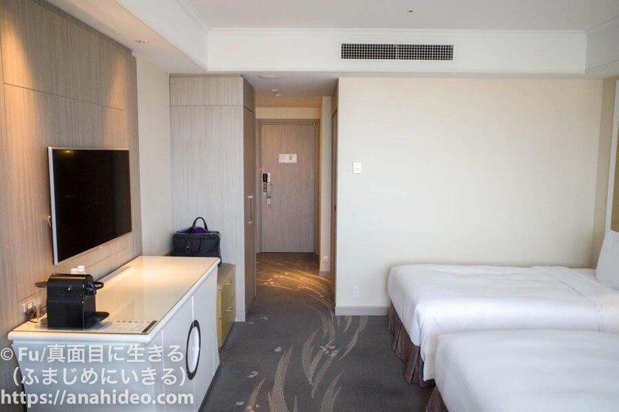 東京マリオットホテル 室内の様子