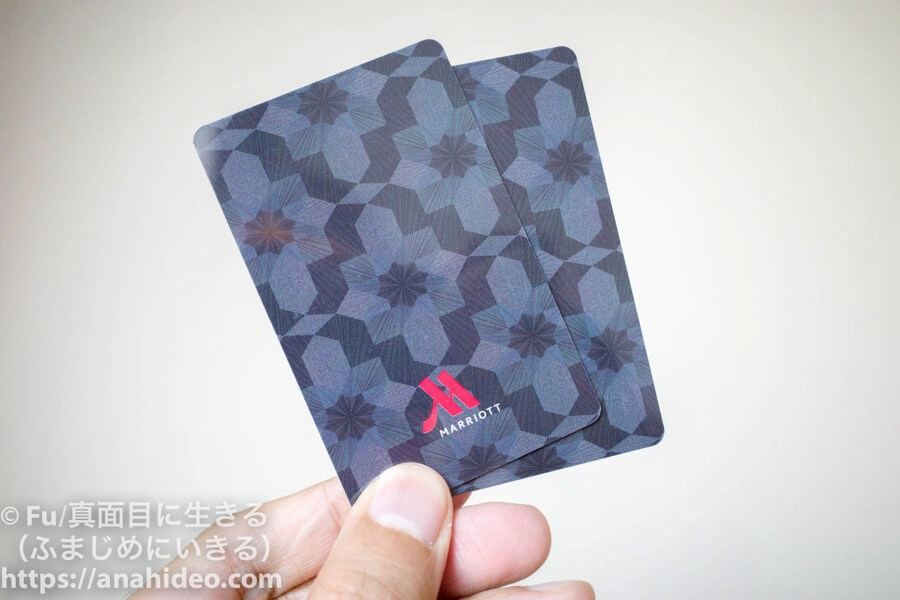東京マリオットホテル カードキー