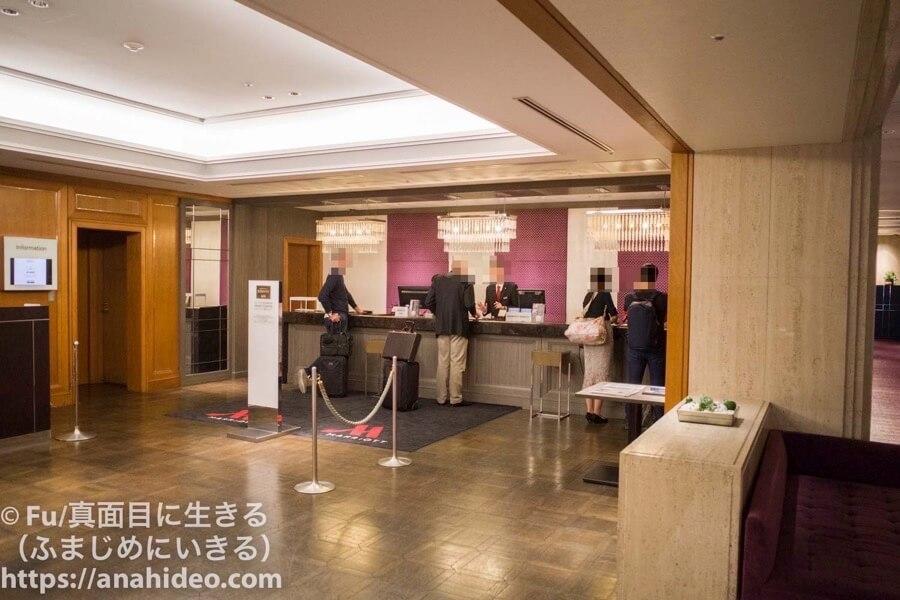 東京マリオットホテル フロント