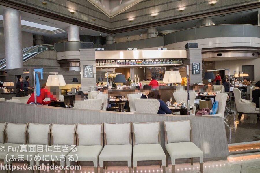 東京マリオットホテル ラウンジカフェ