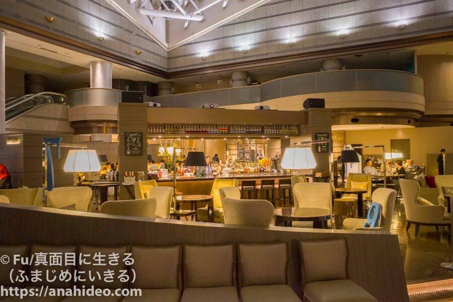 東京マリオットホテル 夜のレストラン