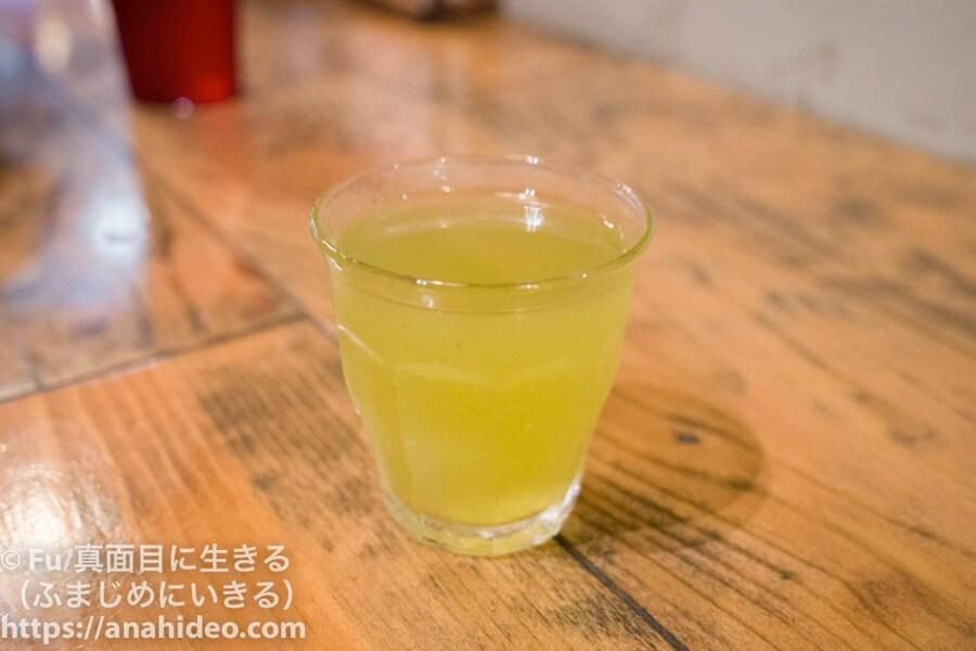 山本のハンバーグ 阿佐ヶ谷食堂 一口野菜ジュース