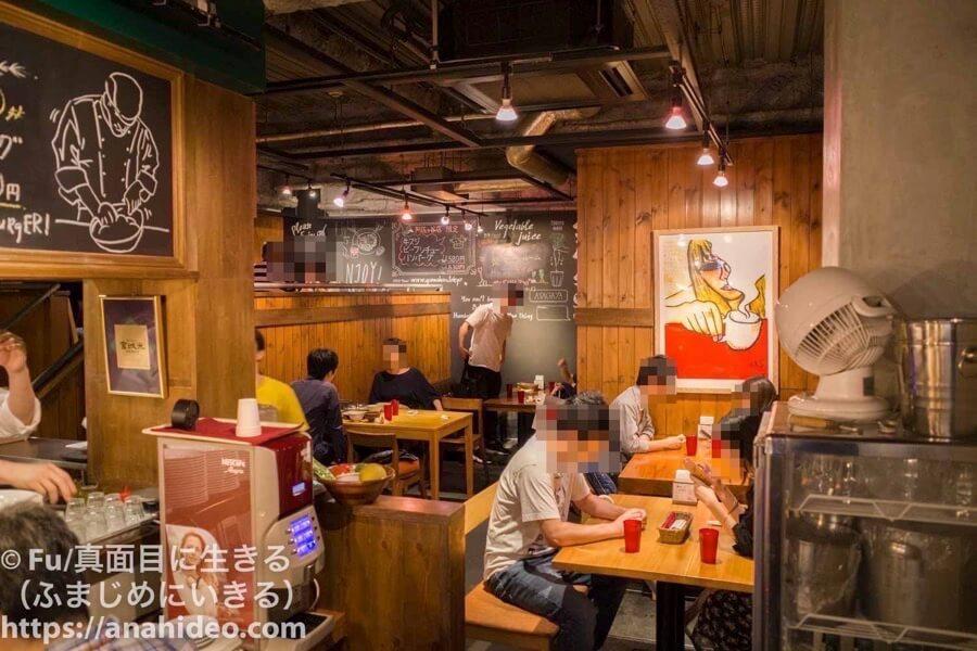 山本のハンバーグ 阿佐ヶ谷食堂 店内
