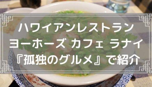 【食レポ】ヨーホーズ カフェ ラナイ 阿佐ヶ谷『孤独のグルメ』に出たハワイアンレストラン 名物のオックステールスープはコラーゲンたっぷり