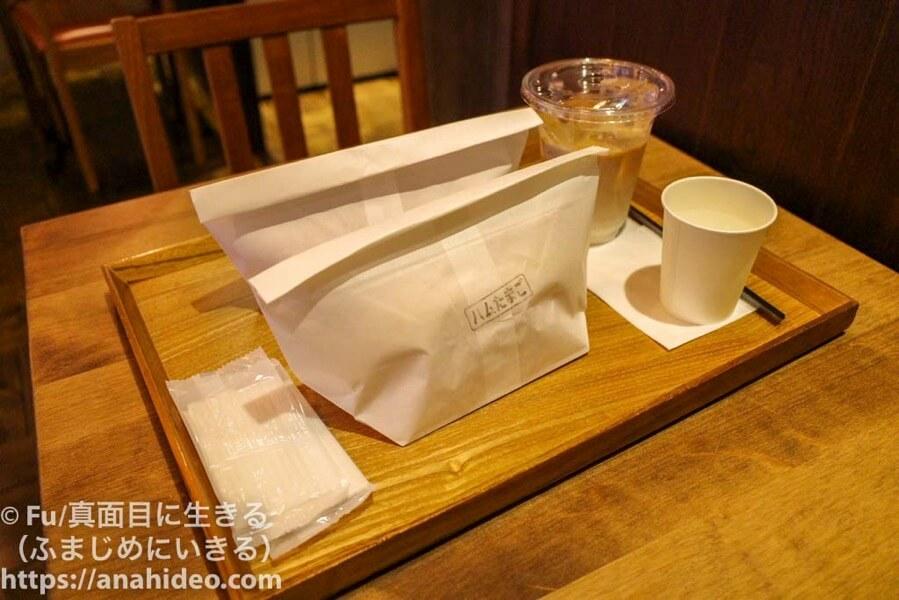 パンの田島 阿佐ヶ谷店 店内で食べる
