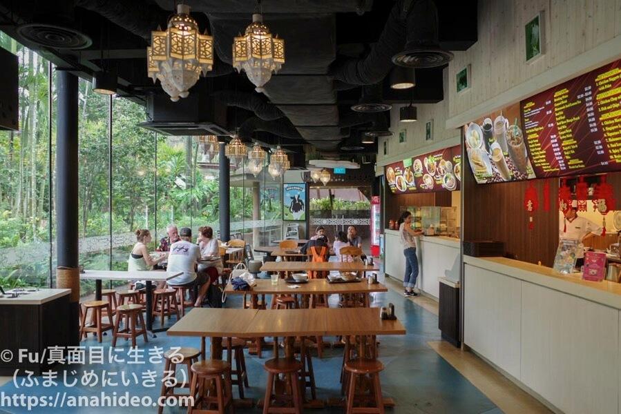 HAWK CAFE(ホークカフェ)の店内