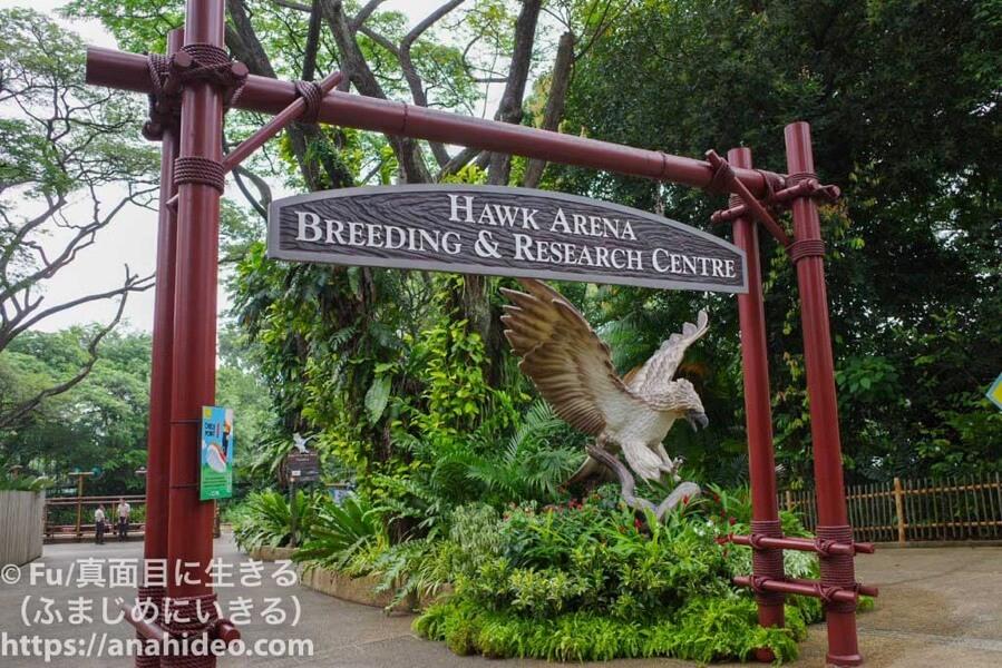 ジュロンバードパーク Hawk Arena