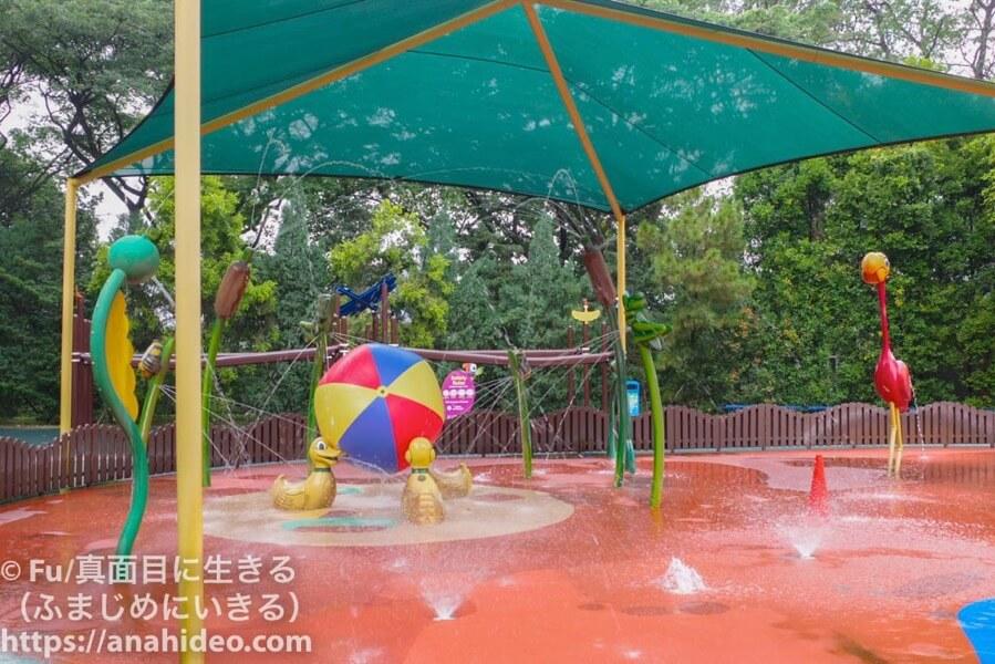 ジュロンバードパーク 水遊び場