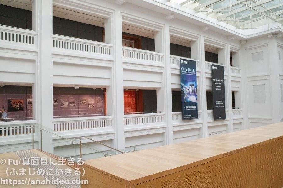 ナショナルギャラリーシンガポールの内装