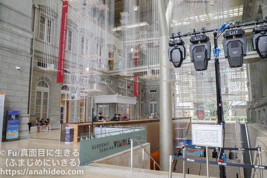 ナショナルギャラリーシンガポールの館内