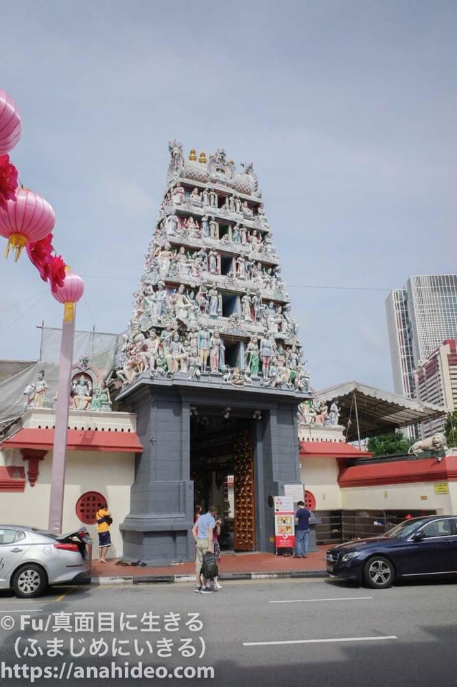スリマリアマン寺院の全体写真