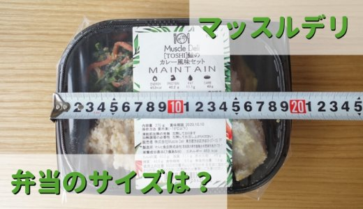 Muscle Deli(マッスルデリ)の容器【大きさ・サイズ】弁当箱は冷凍庫に何個入る?