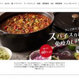 ストウブ 24cm以上の大型鍋が割引中 「スパイスカレーで免疫力アップキャンペーン」