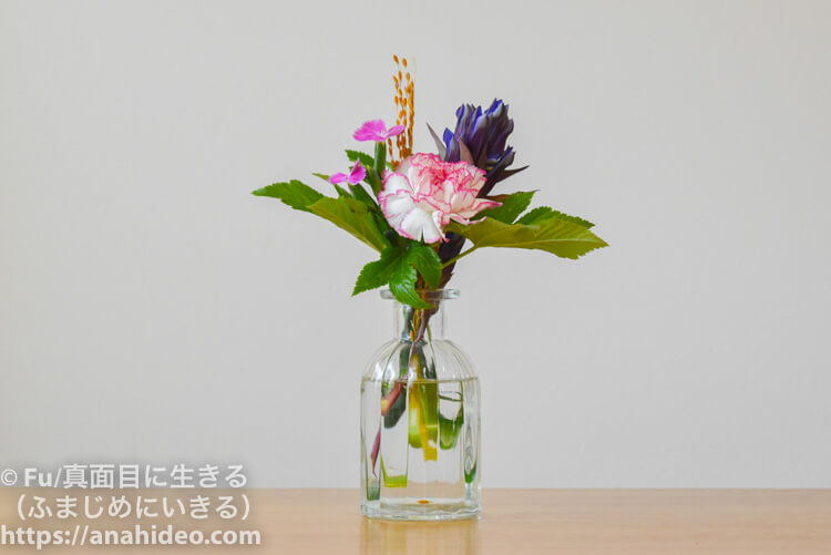 レギュラープランで届いた花