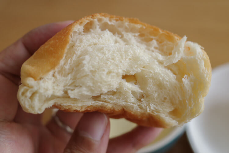 大豆パンの中身
