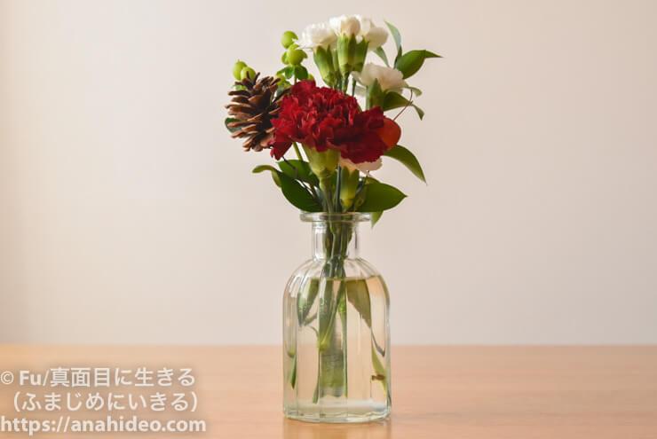 プレミアムプランで届いた花1