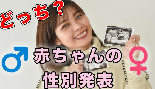 YouTube動画 第30弾 『赤ちゃんの性別発表!』を投稿しました【YouTube】
